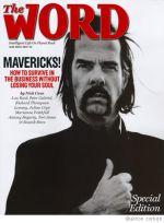 Ник Кейв на обложке журнала The Word, 2007